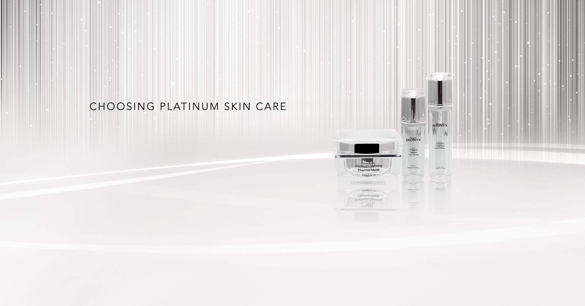 Choosing Platinum Skincare