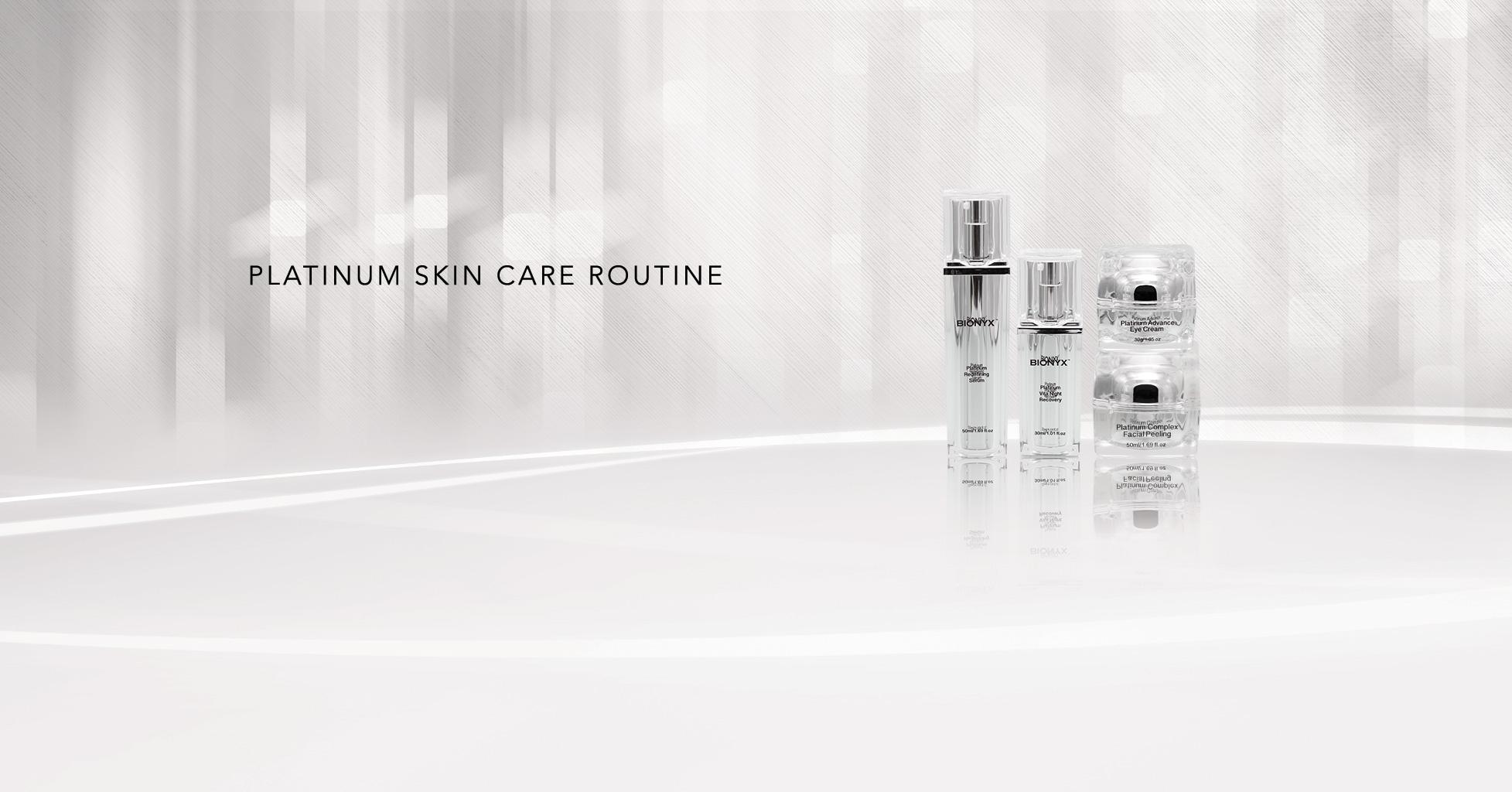 Platinum Skincare Routine