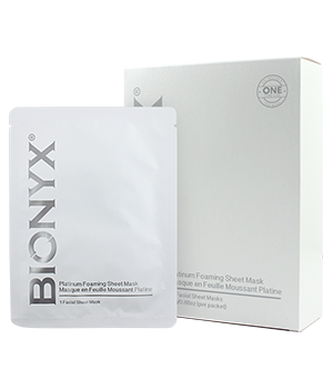Bionyx Platinum Foaming Sheet Mask